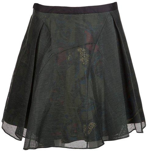 Maiyet Pleated net skirt