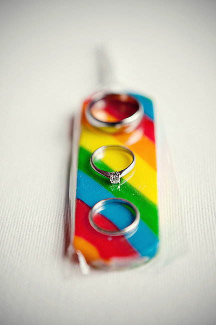Rainbow Ring Holder
