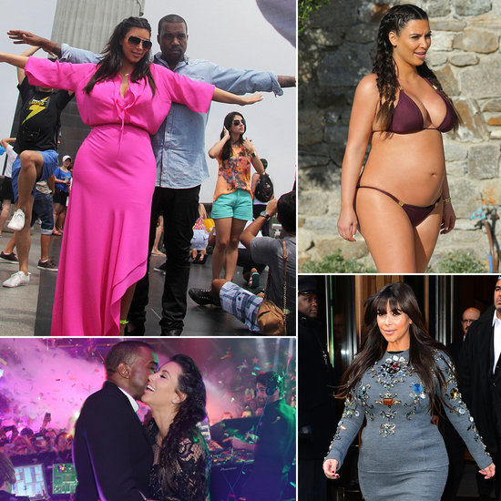 Kim Kardashian's Worldwide Pregnancy Tour