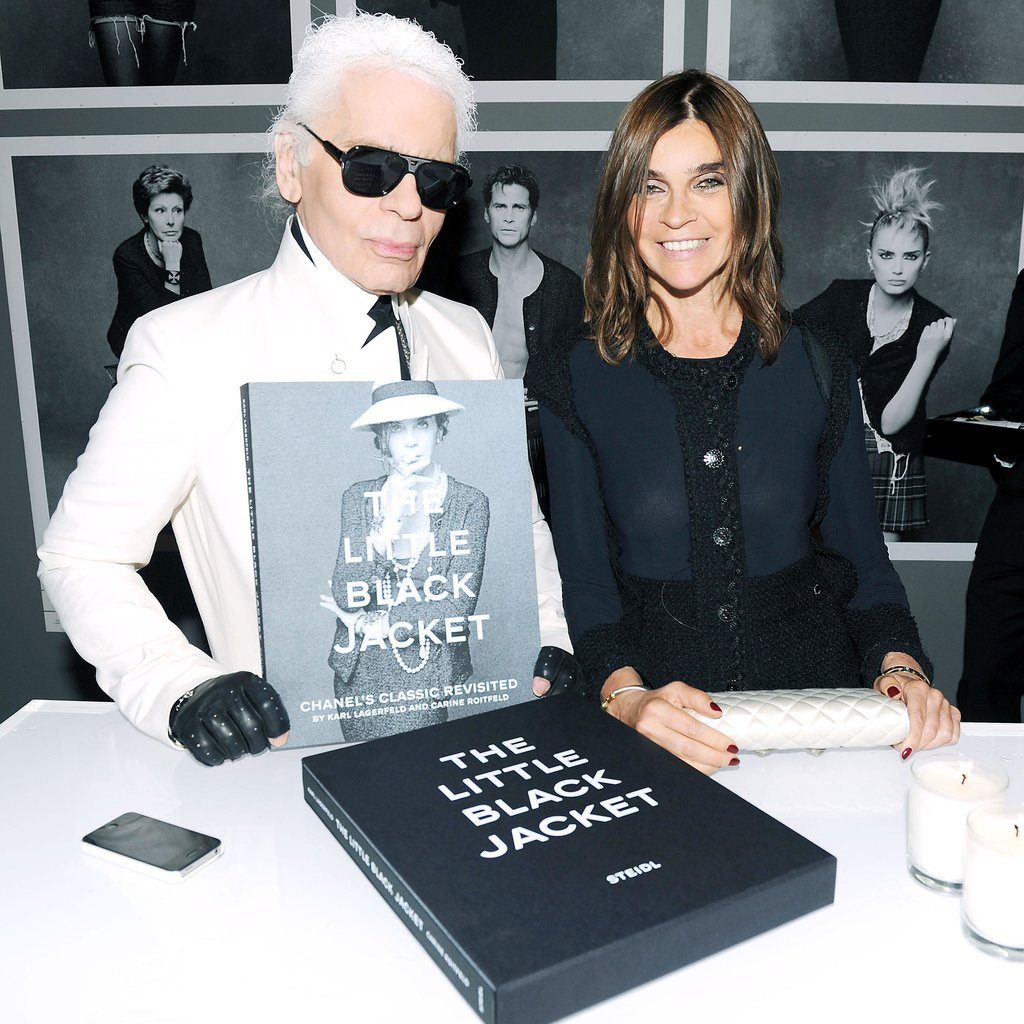 """You're also very lucky because they are very beautiful. It would have been difficult to have an ugly daughter.""  — Karl Lagerfeld on Carine Roitfeld's children, in an interview with her in Interview Magazine. Source: Billy Farrell/BFAnyc.com"