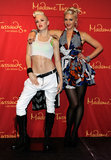 Gwen Stefani traveled to Las Vegas to show off her wax figure in September 2010.