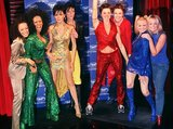 The Spice Girls, including Victoria Beckham, got their own wax figures in London back in December 1999.