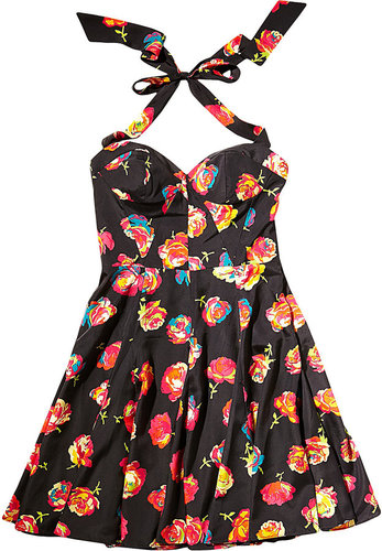 Sweetheart Cabbage Rose Dress