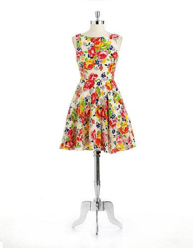 BETSEY JOHNSON Flower Printed Dress