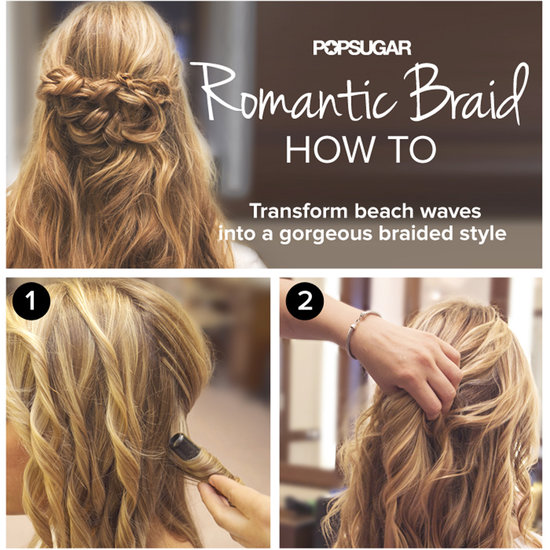 Hot on Pinterest: A Braid Tutorial, One-Step Nail Art, and Ponytails
