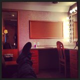 Miles Teller took five in his trailer. Source: Instagram user milest87
