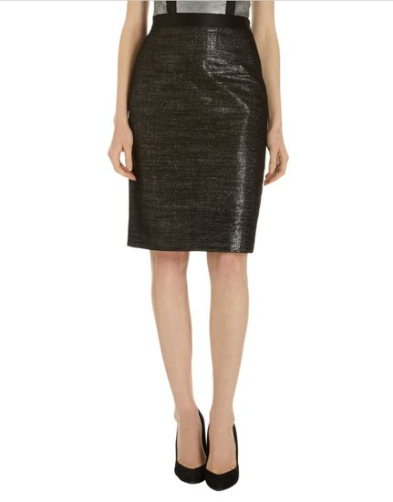 Oh, the places we'd wear this double-layer pencil skirt ($850). Just a hint of sheen gives it a little sleek sophistication.