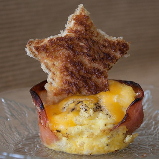 Egg, Cheese, and Canadian Bacon Muffin Cups