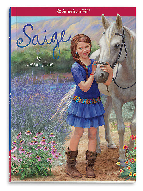 American Girl Saige Books