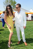 The couple shared a laugh at the June 2013 Veuve Clicquot Polo match classic in New Jersey.