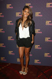 Jada Pinkett Smith's Chime For Change ensemble wasn't complete until she added her beaded T-strap sandals to the mix.