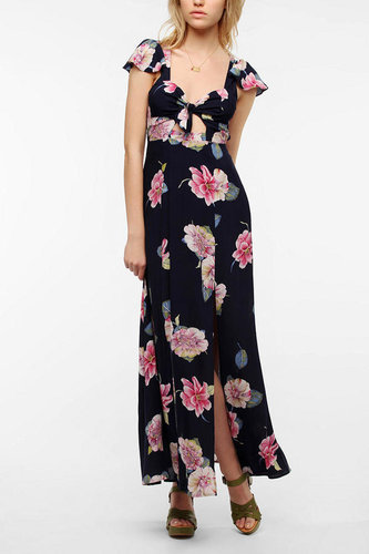 Reformed By The Reformation Flora & Fauna Maxi Dress