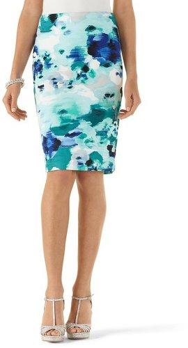 Watercolor Pencil Skirt