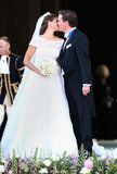 Princess Madeleine of Sweden and Christopher O'Neill The Bride: Princess Madeleine of Sweden, the youngest daughter of Sweden's king and queen and fourth in line for the throne. The Groom: Christopher O'Neill, a banker from New York City. When: June 8, 2013. Where: Stockholm, Sweden.