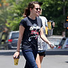 Kristen Stewart Getting Lunch With a Friend