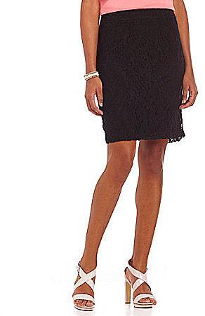 Cupio Lace Pencil Skirt