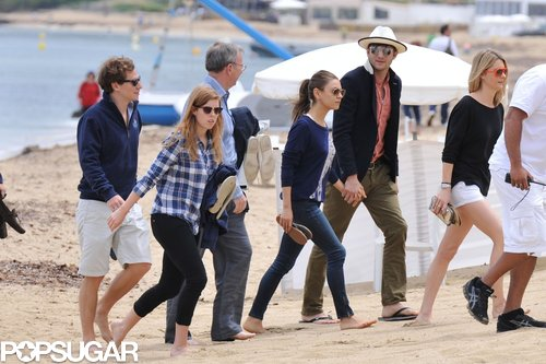 Princess Beatrice and her boyfriend, Dave Clark, got away to St. Tropez with Mila Kunis and Ashton Kutcher in June 2013.