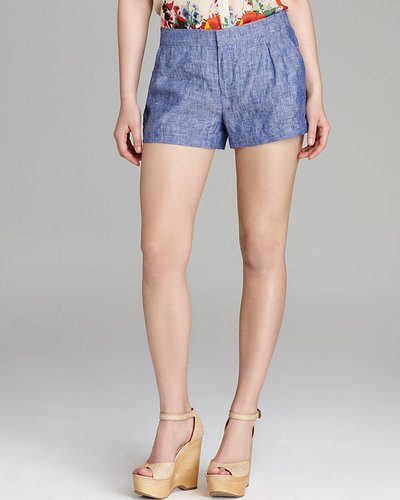 Joie Shorts - Merci B Chambray Denim