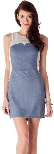 Lucca Couture Chambray Dress
