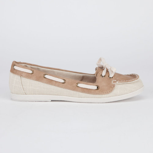 SODA Womens Boat Shoes