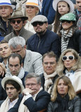 On June 9, Leonardo DiCaprio watched the French Open finals with Lukas Haas.