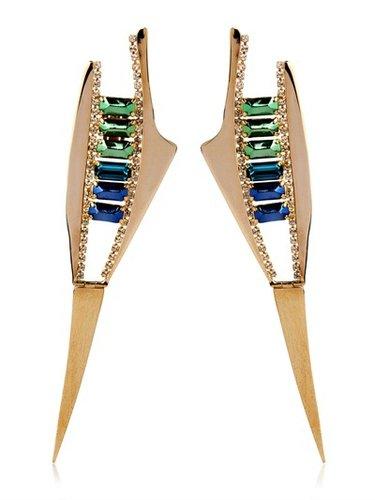 Deco Spike Earrings
