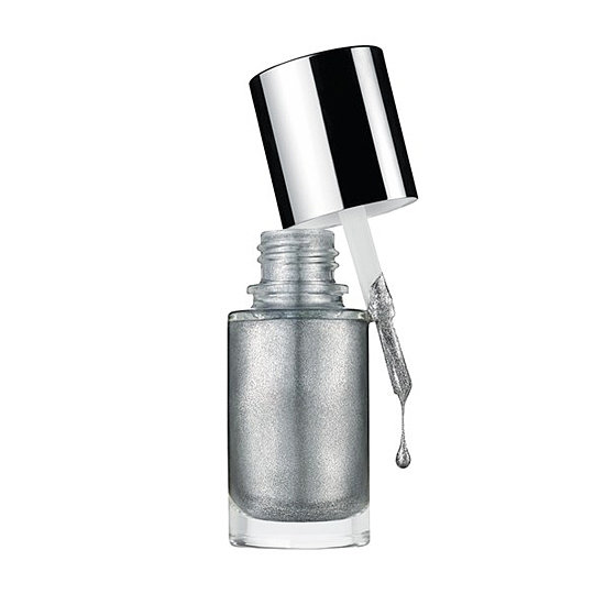 Clinique A Different Nail Enamel in Strappy Sandals ($16) is a classic silver metallic polish. It will be the shade you'll reach for season after season.