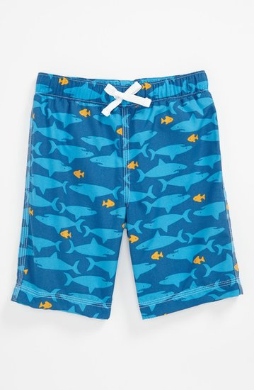 Go deep sea diving with Tucker + Tate's shark and fish-printed suit ($25).