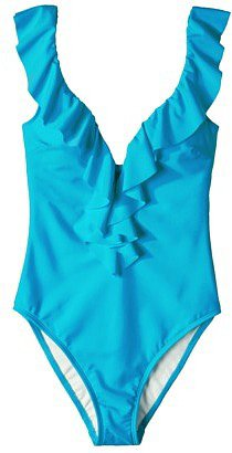 Women's Ruffle 1-Piece Swimsuit -Assorted Colors