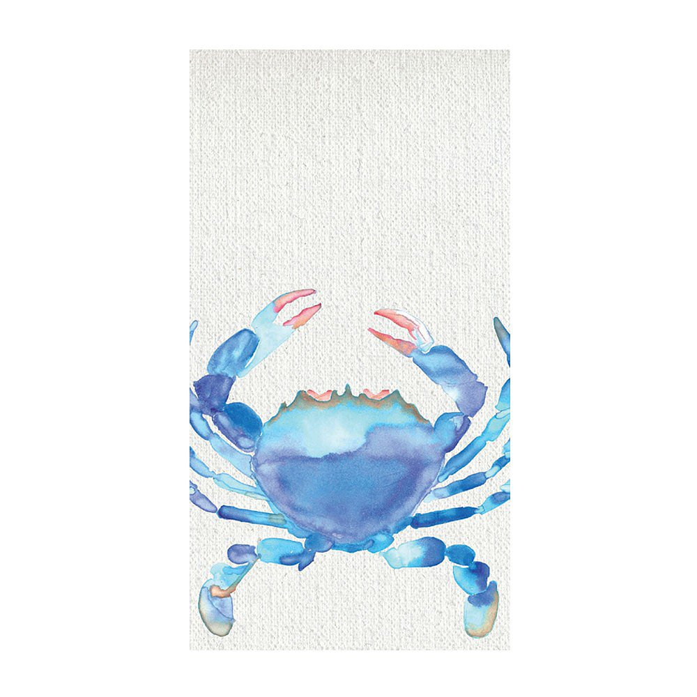There's no need to fear the crab! Just look at that friendly blue matchbook ($4).