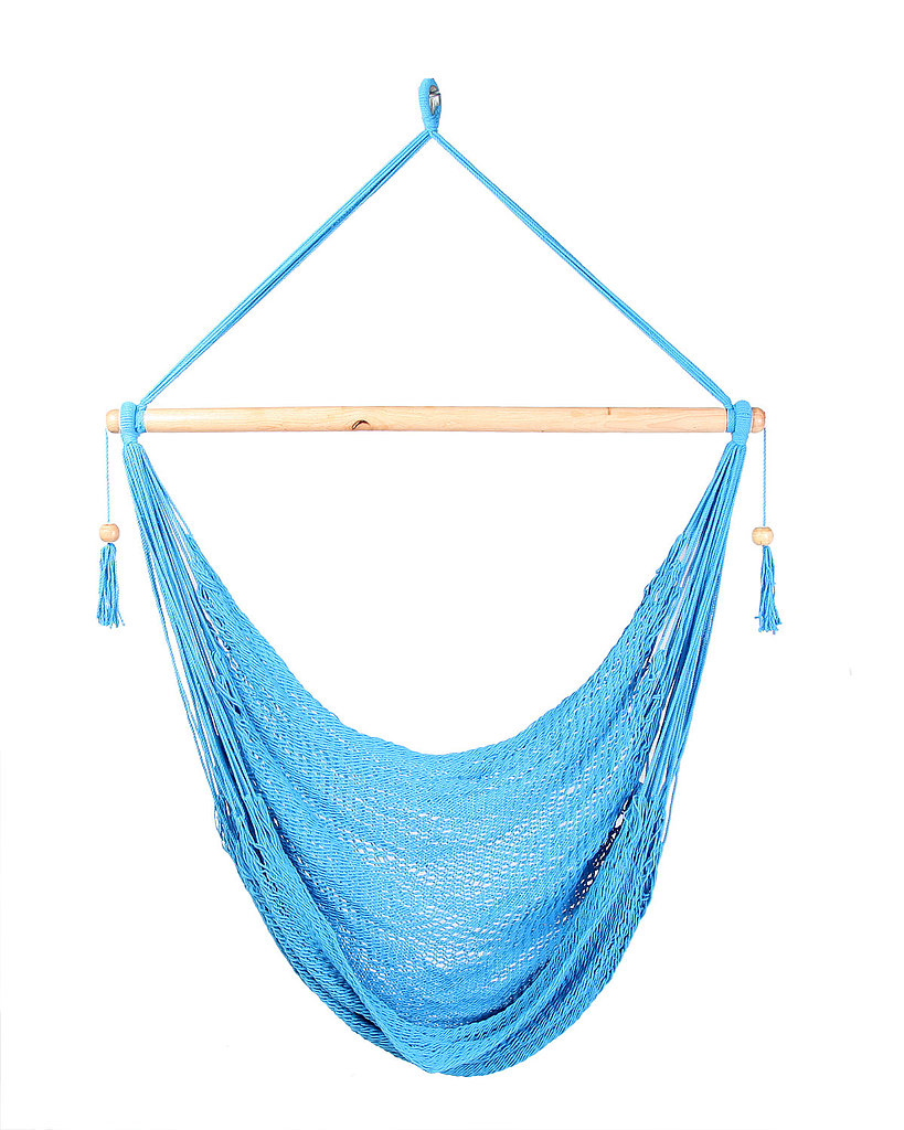 No Summer would be complete without a few swings on a hammock chair ($38).