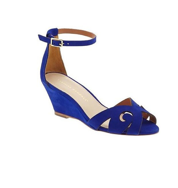 A flash of cobalt on your heels is sure to turn heads; you can thank these