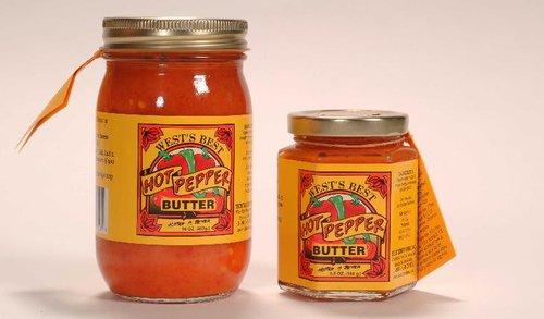 West Virginia: Hot Pepper Butter