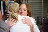 Stella McCartney Gets Star Support (and Squeezes) For Her Spring Showing