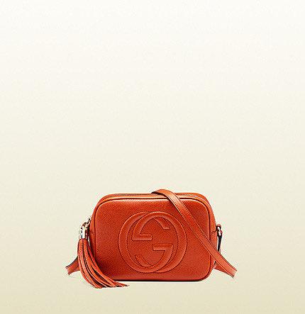 Soho Leather Disco Bag