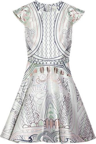 Mary Katrantzou Babelona jacquard dress