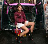 Leandra Medine at Stella McCartney's Resort 2014 presentation. Source: David X Prutting/BFAnyc.com