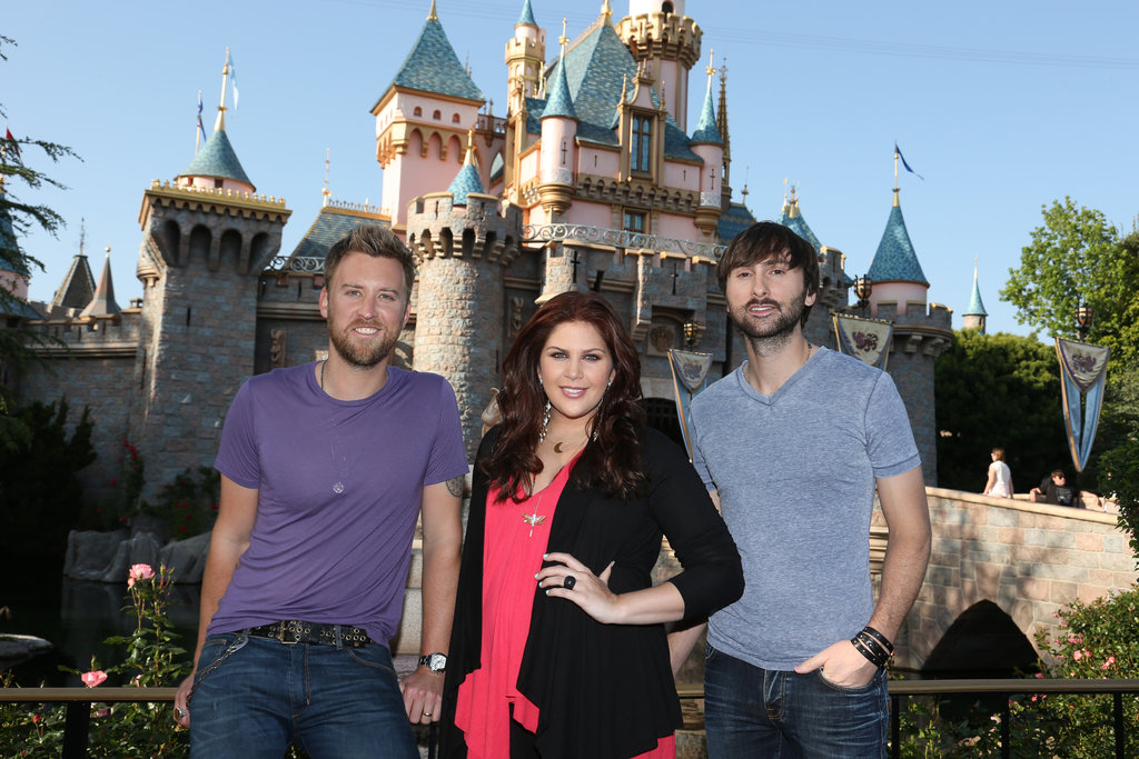 Lady Antebellum visited the Anaheim, CA, park in April.