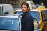 As usual, Brad Pitt is stopping traffic.