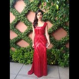 Emmy Rossum showed off her glamorous look for the Critics' Choice Television Awards. Source: Instagram user emmyrossum
