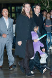Brad Pitt and Pax Wrap Up Their Boys' Trip to South Korea