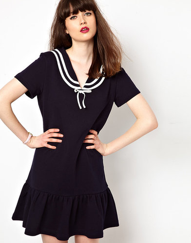 Boutique By Jaeger Jersey Sailor Dress
