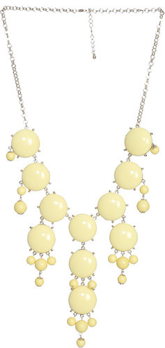 Drapded Bubble Bead Necklace