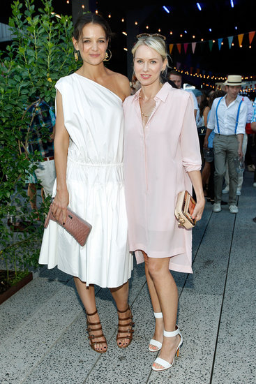 Katie Holmes and Naomi Watts partied together.