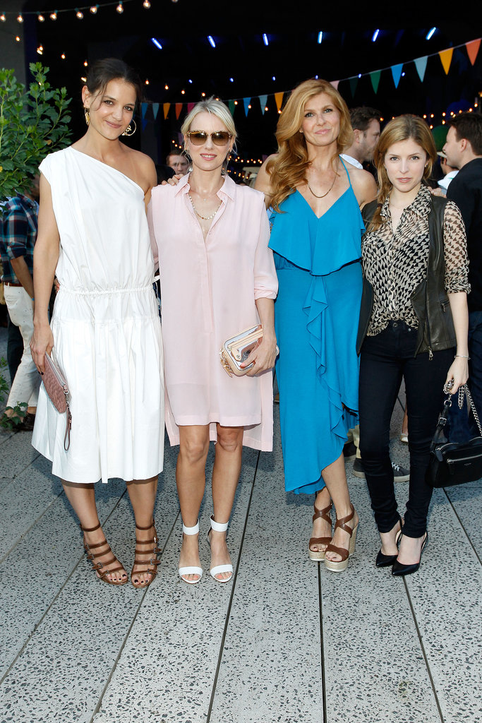 Katie Holmes, Naomi Watts, Connie Britton, and Anna Kendrick attended Coach's bash.