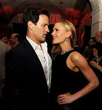 Anna Paquin and Stephen Moyer showed their affection at the afterparty for the True Blood season six premiere in LA.