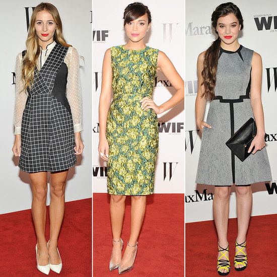 Max Mara Dresses the Fashion Crowd For Hailee Steinfeld's W Mag Fete