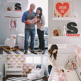 Sienna's Whimsical, Sweet, Pink and Gold Nursery