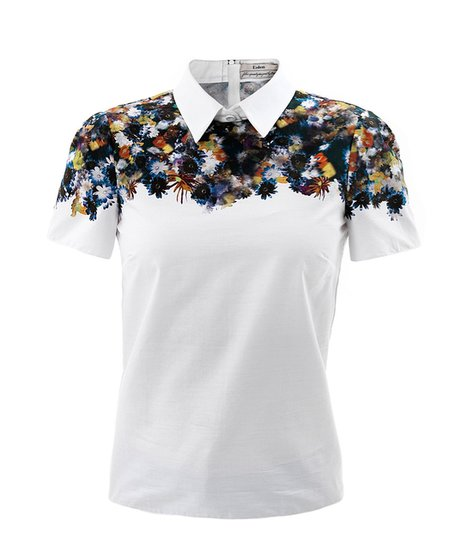 Erdem Narcisse flower-print blouse ($768)