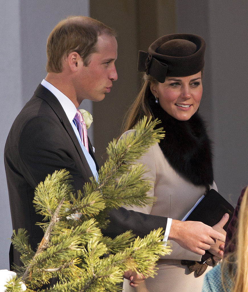 Kate, William, and Harry attended a friend's March 2013 wedding in Arosa, Switzerland.